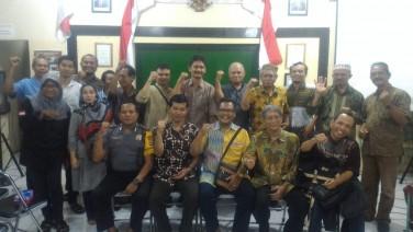 Sosialisasi Jaga Warga di Kampung Ngadiwinatan oleh Kesbangpol DIY