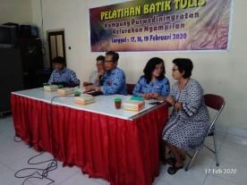 Pelatihan Batik Tulis