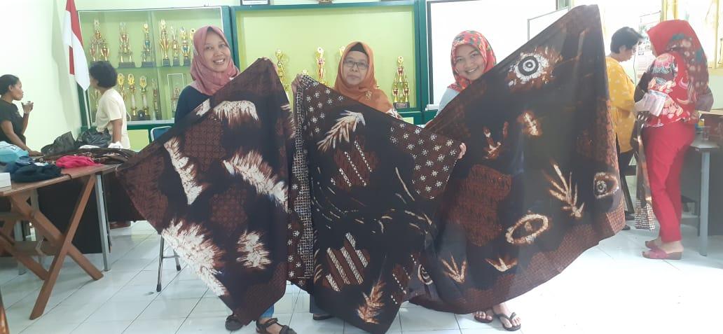Pelatihan Batik Kontemporer